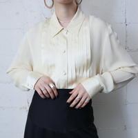 Pleated Silk Blouse IV