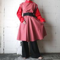 Stripe Design Dress  REBE