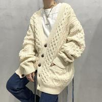 Fisherman Knit Cardigan IV