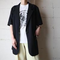 Short Sleeve Tailored Jacket BK