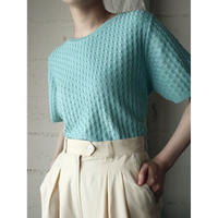 Short Sleeve Pattern Knit GR