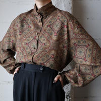 Arabesque Pattern Blouse BR