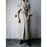 Trench Design Linen Dress BE