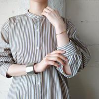 Stripe Band Collar Shirt BENV