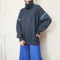 Turtle Neck line Sweater GRBL