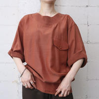 Knitted Neck & Hem Design Tops OR