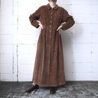 Corduroy Shirt Dress BR