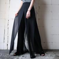 Sheer Design Pants BK