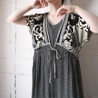 Flower Pattern Design Dress BKWH