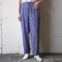 Flower Pattern Easy Pants BL
