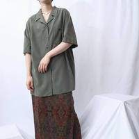 Open Collar Silk Shirt KA