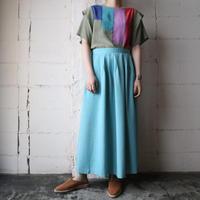 Tuck Flared Skirt BL