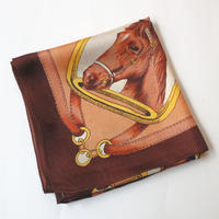 Horse Pattern Scarf BR