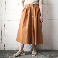 Front Button Flared Skirt BR