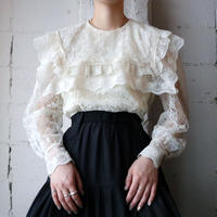Vintage Flower Lace Blouse IV