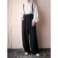 Button Tuck Pants BK