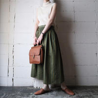 Stripe Tyrolean Skirt KAYE