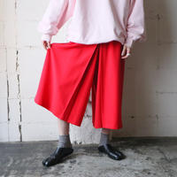 Pleated Gaucho Pants RE