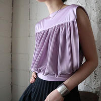 70's USA Pleated Tops LPUR