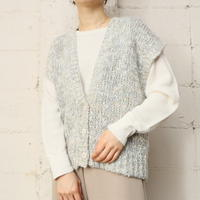 French Sleeve Knit Vest LGR