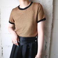 Short Sleeve Shiny Knit GDBK
