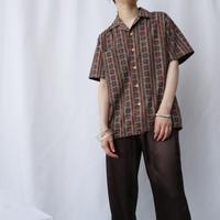 60~70's McGREGOR Pattern Shirt GRBUR