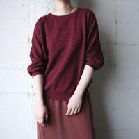 Design Pattern Pullover BUR