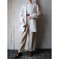 Linen Tuck Pants LBE