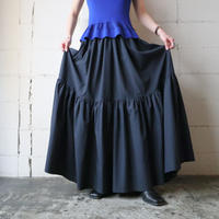 Tiered Circular Skirt BK