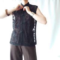Code Embroidery China Blouse BK