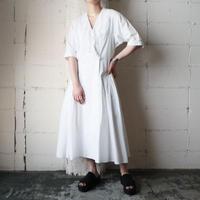 Lace Collar Half Sleeve Dress WH