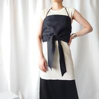 Belted Linen Camisole BK