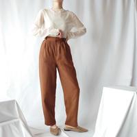 Linen Tuck Pants BR