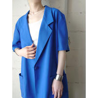 Short Sleeve Tailored Jacket BL