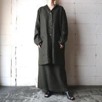 Linen Jacket Skirt Setup KA