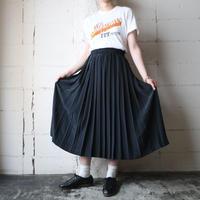 Pleated Easy Skirt BK