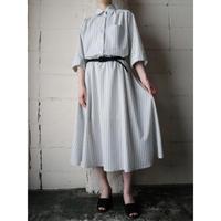 Stripe Shirt Dress WHGR