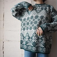 Nordic Pattern Knit  GN