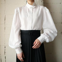 Design Stand Collar Blouse WH