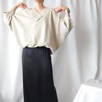 Dolman Sleeve Design Neck Blouse BE
