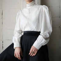 Stand Collar Lace Blouse WH