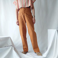 70's High Rise Cotton Pants OR