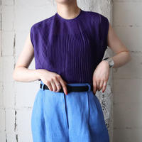 1960's EURO Pleated Blouse PUR