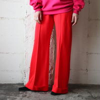 Flared Easy Pants RE