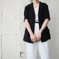 Short Sleeve Jacket BK