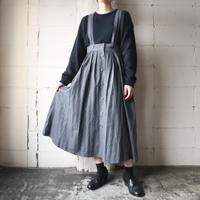 Shadow Stripe Suspender Skirt GR