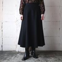 Wool Flared Skirt BK