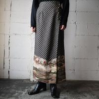 Small Pattern horse Skirt BK