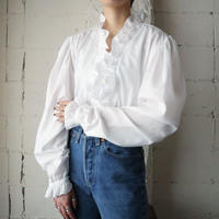 Frilled Collar Blouse WH
