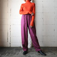 Small Pattern Easy Pants PURYE